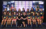 26 May 2017; The Lidl Teams of the League Awards were presented at Croke Park on Friday, May 26th. The best players from the 4 Divisions of the Lidl National Football Leagues are selected in their position on their Divisional team. Managers from opposition teams voted for the most impressive players from each match with the player receiving the most votes selected in their position on their Divisions best fifteen. The Lidl Division 2 Team of the League is pictured with LGFA president, Marie Hickey and Lidl Representative Laura Byrne. Photo by Sam Barnes/Sportsfile
