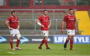 20 May 2017; Dave Kilcoyne, left, Peter O'Mahony, centre, and CJ Stander of Munster during the Guinness PRO12 semi-final between Munster and Ospreys at Thomond Park in Limerick. Photo by Diarmuid Greene/Sportsfile