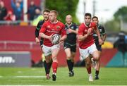 20 May 2017; Keith Earls of Munster supported by team-mate Conor Murray during the Guinness PRO12 semi-final between Munster and Ospreys at Thomond Park in Limerick. Photo by Diarmuid Greene/Sportsfile