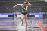 27 May 2017; Jessica Coyne of IUAA competing in the 3000m steeplechase event during Day 1 of the Irish Life Health National Combined Event Championships at Morton Stadium in Santry, Co Dublin. Photo by Eóin Noonan/Sportsfile