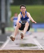 27 May 2017; Michael McGonagle of Finn Valley A.C. Co. Donegal competing in the boy's U14 Combined Event event during Day 1 of the Irish Life Health National Combined Event Championships at Morton Stadium in Santry, Co Dublin. Photo by Eóin Noonan/Sportsfile
