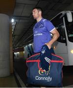 27 May 2017; Munster's Peter O'Mahony arrives ahead of the Guinness PRO12 Final between Munster and Scarlets at the Aviva Stadium in Dublin. Photo by Ramsey Cardy/Sportsfile