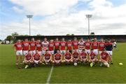 27 May 2017; The Cork Squad before the Munster GAA Football Junior Championship Quarter-Final match between Waterford and Cork at Fraher Field in Dungarvan, Co Waterford. Photo by Matt Browne/Sportsfile