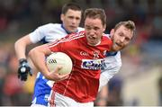 27 May 2017; Colm O'Neill of Cork in action against Thomas O'Gorman of Waterford during the Munster GAA Football Senior Championship Quarter-Final match between Waterford and Cork at Fraher Field in Dungarvan, Co Waterford. Photo by Matt Browne/Sportsfile