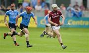 28 May 2017; Joe Canning of Galway gets past Ryan O'Dwyer of Dublin during the Leinster GAA Hurling Senior Championship Quarter-Final match between Galway and Dublin at O'Connor Park, in Tullamore, Co. Offaly.  Photo by Piaras Ó Mídheach/Sportsfile
