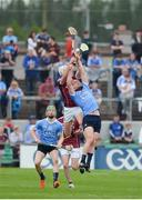 28 May 2017; Ryan O'Dwyer of Dublin in action against Jason Flynn of Galway during the Leinster GAA Hurling Senior Championship Quarter-Final match between Galway and Dublin at O'Connor Park, in Tullamore, Co. Offaly. Photo by Daire Brennan/Sportsfile