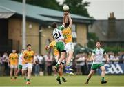 28 May 2017; Anthony McDermott of London in action against Damien Moran of Leitrim during the Connacht GAA Football Senior Championship Quarter-Final match between London and Leitrim at McGovern Park, in Ruislip, London, England.   Photo by Seb Daly/Sportsfile