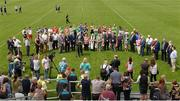 28 May 2017; A general view of the unveiling of the new stand and facilities prior to the Connacht GAA Football Senior Championship Quarter-Final match between London and Leitrim at McGovern Park, in Ruislip, London, England.   Photo by Seb Daly/Sportsfile