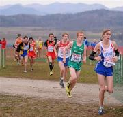 11 December 2011; Sean Tobin, Ireland, in action during the Junior Men's event at the 18th SPAR European Cross Country Championships 2011. Velenje, Slovenia. Picture credit: Stephen McCarthy / SPORTSFILE