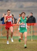 11 December 2011; Emmet Jennings, Ireland, in action during the U23 Men's event at the 18th SPAR European Cross Country Championships 2011. Velenje, Slovenia. Picture credit: Stephen McCarthy / SPORTSFILE