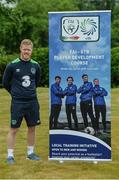 29 May 2017; In attendance at the FAI ETB Player Development Courses launch is Daryl Horgan, Republic of Ireland International and Graduate of the Castlebar FAI ETB Player Development Course. The FAI ETB Player Development Courses are funded by the Mayo, Sligo and Leitrim Education and Training Board. Applications are now open for the courses at www.fai.ie/fai-etb/courses. FAI National Training Centre in Abbotstown, Co. Dublin. Photo by Piaras Ó Mídheach/Sportsfile