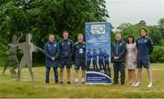 29 May 2017; In attendance at the FAI ETB Player Development Courses launch are, from left, Gerry Davis, Irish Town Course coordinator, Billy Woods, Cork regional coordinator, Daryl Horgan, Republic of Ireland International and Graduate of the Castlebar FAI ETB Player Development Course, Harry Kenny, Clondalkin coordinator, Helen Sinnott, Litton Lane Training and Mike McCarthy, Limerick coordinator. Applications are now open for the courses at www.fai.ie/fai-etb/courses. FAI National Training Centre in Abbotstown, Co. Dublin. Photo by Piaras Ó Mídheach/Sportsfile