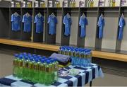 28 May 2017; A general view of the Dublin dressing room before the Leinster GAA Hurling Senior Championship Quarter-Final match between Galway and Dublin at O'Connor Park, in Tullamore, Co. Offaly.  Photo by Piaras Ó Mídheach/Sportsfile