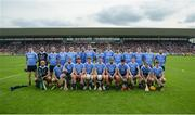 28 May 2017; The Dublin panel ahead of the Leinster GAA Hurling Senior Championship Quarter-Final match between Galway and Dublin at O'Connor Park, in Tullamore, Co. Offaly. Photo by Daire Brennan/Sportsfile