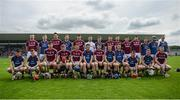 28 May 2017; The Galway panel ahead of the Leinster GAA Hurling Senior Championship Quarter-Final match between Galway and Dublin at O'Connor Park, in Tullamore, Co. Offaly. Photo by Daire Brennan/Sportsfile