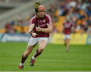28 May 2017; Conor Whelan of Galway during the Leinster GAA Hurling Senior Championship Quarter-Final match between Galway and Dublin at O'Connor Park, in Tullamore, Co. Offaly. Photo by Daire Brennan/Sportsfile