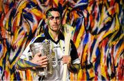 31 May 2017; Clare hurler Brendan Bugler pictured at the launch of the Littlewoods Ireland sponsorship of the GAA Senior All-Ireland Hurling Championship with a stylish photocall in central Dublin. The shoot featured nine-time All-Ireland winner Jackie Tyrell, Cork hurler Anthony Nash and Clare hurler Brendan Bugler. The fashion, sportswear, electrical and homeware retailer will continue with their successful #StyleOfPlay campaign following on from its introduction in the recent Littlewoods Ireland National Camogie Leagues. Photo by Ramsey Cardy/Sportsfile