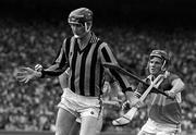 25 July 1982; Brian Cody of Kilkenny, in action against Mark Corrigan of Offaly during the Leinster Senior Hurling Championship Final match between Kilkenny and Offaly at Croke Park in Dublin. Photo by Ray McManus/Sportsfile