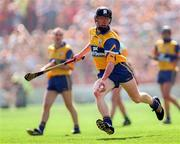 9 August 1998; Niall Gilligan of Clare during the GAA Hurling All-Ireland Senior Championship Semi-Final match between Offaly and Clare at Croke Park, Dublin. Photo by Ray McManus/Sportsfile