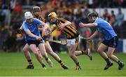 31 May 2017; Billy Ryan of Kilkenny in action against Shane Barrett and Carl Sammon of Dublin during the Bord Gáis Energy Leinster GAA Hurling Under 21 Championship Quarter-Final match between Kilkenny and Dublin at Nowlan Park in Kilkenny. Photo by Matt Browne/Sportsfile
