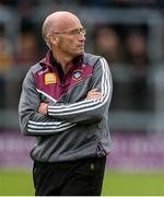 27 May 2017; Westmeath fitness coach Tommy Carr before the Leinster GAA Hurling Senior Championship Quarter-Final match between Westmeath and Offaly at TEG Cusack Park in Mullingar, Co Westmeath. Photo by Piaras Ó Mídheach/Sportsfile
