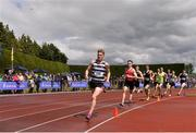 3 June 2017; Rory Lodge of St Kierans, Co Kilkenny on his way to winning the Senior Boy's 800m during the Irish Life Health All Ireland Schools Track & Field Championships 2017 at Tullamore Harrier Stadium, in Co. Offaly. Photo by Sam Barnes/Sportsfile