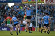 3 June 2017; Diarmuid Connolly of Dublin in action against Brendan Murphy of Carlow during the Leinster GAA Football Senior Championship Quarter-Final match between Dublin and Carlow at O'Moore Park, Portlaoise, in Co. Laois. Photo by Daire Brennan/Sportsfile