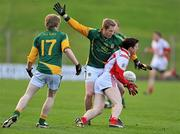 15 January 2012; Adrain Reid, Louth, in action against Graham Geraghty, Meath. Bord na Mona O'Byrne Cup, Quarter-Final, Meath v Louth, Pairc Tailteann, Navan, Co. Meath. Picture credit: David Maher / SPORTSFILE