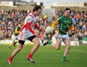 15 January 2012; Derek Crilly, Louth, in action against Shane McAnarney, Meath. Bord na Mona O'Byrne Cup, Quarter-Final, Meath v Louth, Pairc Tailteann, Navan, Co. Meath. Picture credit: David Maher / SPORTSFILE