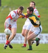 15 January 2012; Dessie Finnegan, Louth, in action against Stephen Bray, Meath. Bord na Mona O'Byrne Cup, Quarter-Final, Meath v Louth, Pairc Tailteann, Navan, Co. Meath. Picture credit: David Maher / SPORTSFILE