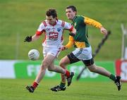 15 January 2012; David Collier, Louth, in action against Tom Walsh, Meath. Bord na Mona O'Byrne Cup, Quarter-Final, Meath v Louth, Pairc Tailteann, Navan, Co. Meath. Picture credit: David Maher / SPORTSFILE