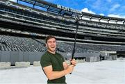 7 June 2017; Ireland's Luke McGrath on a tour of the MetLife Stadium in New Jersey during the team's down day ahead of their match against USA. Photo by Ramsey Cardy/Sportsfile