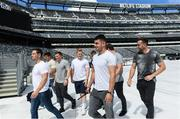 7 June 2017; Ireland's Tiernan O'Halloran on a tour of the MetLife Stadium in New Jersey during the team's down day ahead of their match against USA. Photo by Ramsey Cardy/Sportsfile