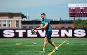 8 June 2017; Ireland's Tiernan O'Halloran during squad training at the Stevens Institute of Technology in Hoboken, New Jersey, USA. Photo by Ramsey Cardy/Sportsfile