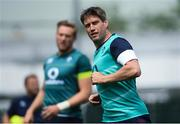 8 June 2017; Ireland coach Ronan O'Gara during squad training at the Stevens Institute of Technology in Hoboken, New Jersey, USA. Photo by Ramsey Cardy/Sportsfile