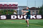 8 June 2017; Ireland's Jack Conan during squad training at the Stevens Institute of Technology in Hoboken, New Jersey, USA. Photo by Ramsey Cardy/Sportsfile