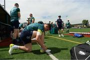 8 June 2017; Ireland's Garry Ringrose prepares for squad training at the Stevens Institute of Technology in Hoboken, New Jersey, USA. Photo by Ramsey Cardy/Sportsfile