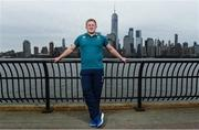8 June 2017; Ireland's John Ryan poses for a portrait following a press conference at the Hyatt Regency Hotel in Jersey City, New Jersey, USA. Photo by Ramsey Cardy/Sportsfile