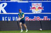 9 June 2017; Ireland's Garry Ringrose during their captains run at the Red Bull Arena in Harrison, New Jersey, USA. Photo by Ramsey Cardy/Sportsfile
