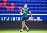 9 June 2017; Ireland's Jacob Stockdale during their captains run at the Red Bull Arena in Harrison, New Jersey, USA. Photo by Ramsey Cardy/Sportsfile