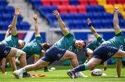 9 June 2017; Ireland's Cian Healy, centre, during their captains run at the Red Bull Arena in Harrison, New Jersey, USA. Photo by Ramsey Cardy/Sportsfile