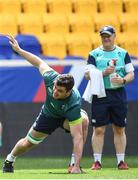 9 June 2017; Ireland's James Ryan during their captains run at the Red Bull Arena in Harrison, New Jersey, USA. Photo by Ramsey Cardy/Sportsfile