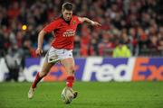 14 January 2012; Ronan O'Gara, Munster. Heineken Cup, Pool 1, Round 5, Munster v Castres Olympique, Thomond Park, Limerick. Picture credit: Matt Browne / SPORTSFILE