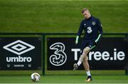 10 June 2017; James McClean of Republic of Ireland during squad training at the FAI National Training Centre in Abbotstown, Dublin. Photo by Sam Barnes/Sportsfile