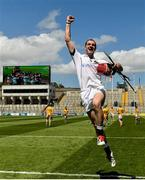 10 June 2017; Liam Watson of Warwickshire celebrates after the Lory Meagher Cup Final match between Leitrim and Warwickshire at Croke Park in Dublin. Photo by Piaras Ó Mídheach/Sportsfile