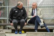 10 June 2017; Cork manager Peadar Healy, left, with Frank Murphy, Secretary, of the Cork County Board before the Munster GAA Football Senior Championship Semi-Final match between Cork and Tipperary at Pairc Ui Rinn in Cork. Photo by Matt Browne/Sportsfile