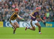 10 June 2017; Lee Chin, right, of Wexford in action against Cillian Buckley of Kilkenny during the Leinster GAA Hurling Senior Championship Semi-Final match between Wexford and Kilkenny at Wexford Park in Wexford. Photo by Daire Brennan/Sportsfile