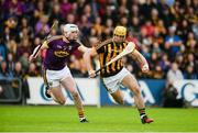 10 June 2017; Colin Fennelly of Kilkenny in action against Liam Ryan of Wexford during the Leinster GAA Hurling Senior Championship Semi-Final match between Wexford and Kilkenny at Wexford Park in Wexford. Photo by Daire Brennan/Sportsfile