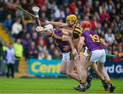 10 June 2017; Liam Ryan of Wexford in action against Colin Fennelly of Kilkenny during the Leinster GAA Hurling Senior Championship Semi-Final match between Wexford and Kilkenny at Wexford Park in Wexford. Photo by Daire Brennan/Sportsfile