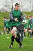 24 January 2012; Ireland's Ian Nagle in action during squad training ahead of their RBS Six Nations Rugby Championship game against Wales on February 5th. Ireland Rugby Squad Training, University of Limerick, Limerick. Picture credit: Diarmuid Greene / SPORTSFILE